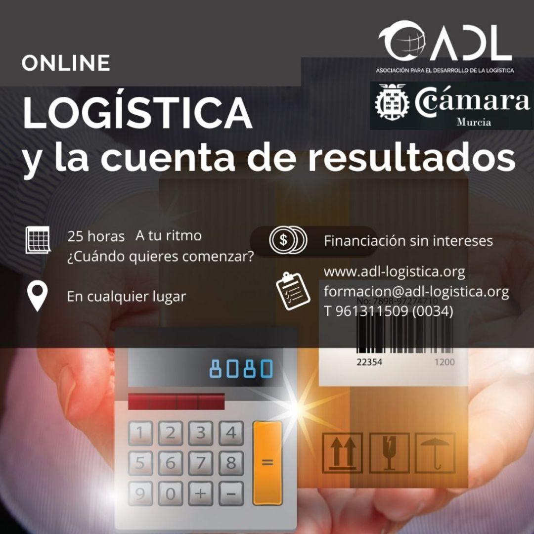 curso online logística y cuenta de resultados