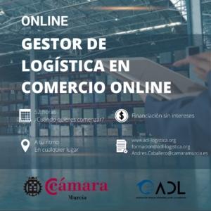 curso online gestor logística comercio online