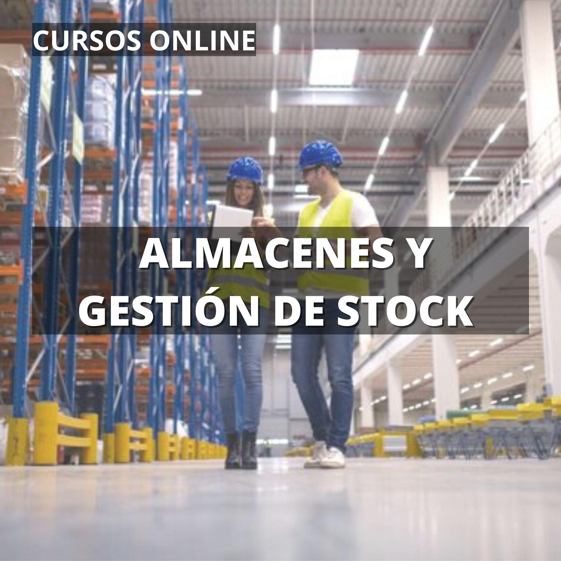 cursos online almacenes y gestión de stock