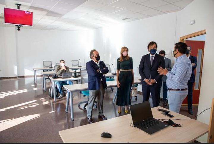 ENAE - Nuevas aulas para impartir clases presenciales