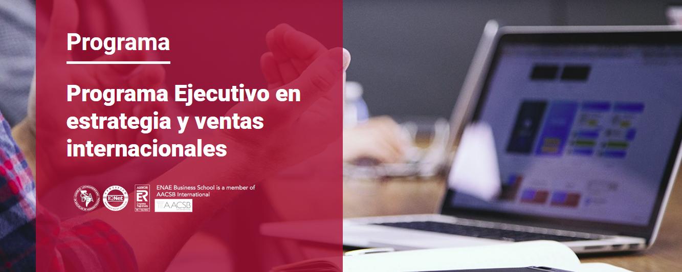 Programa Ejcutivo en estrategia y ventas internacionales