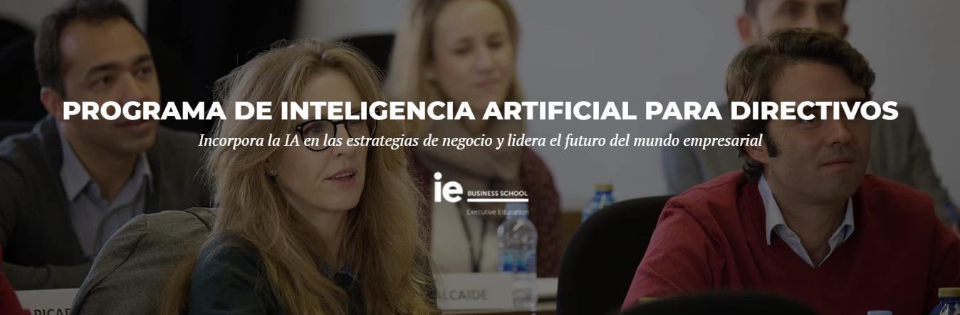IE Business School - Programa Ejecutivo: Inteligencia Artificial para directivos