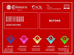 Certificado Lean Buying - Cámara de Comercio de Murcia