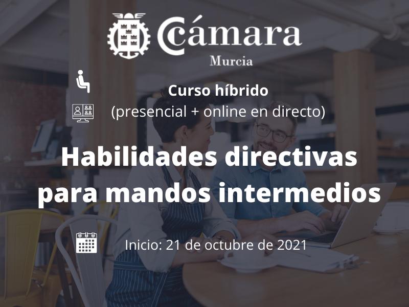 Habilidades directivas para mandos intermedios | Cámara de Comercio de Murcia