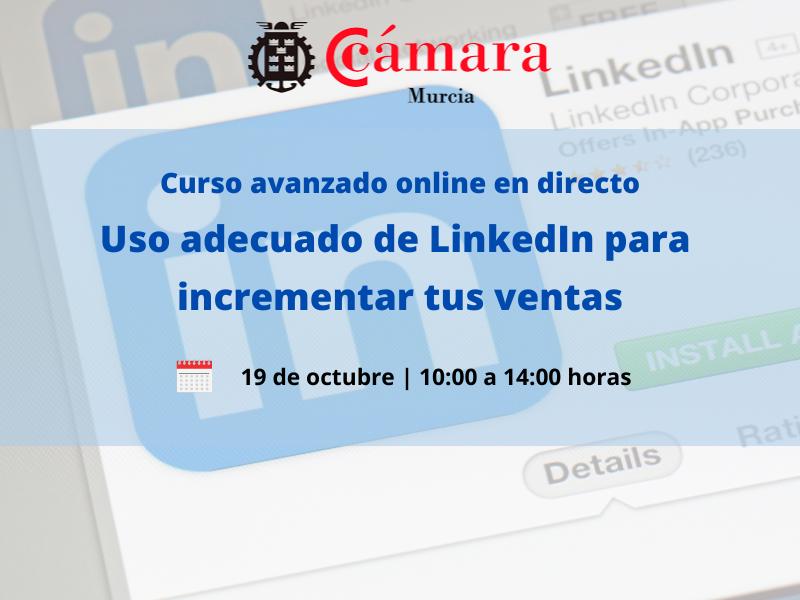 Curso avanzado Linkedin Cámara de Comercio de Murcia